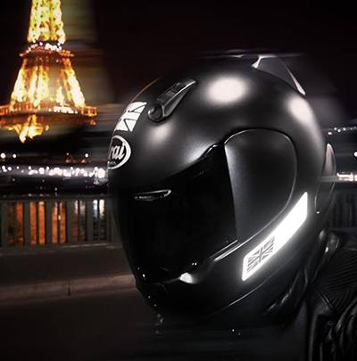 MOTORCYCLE Helmet Stickers Hi Viz X41 FRANCE REFLECTIVE WHITE E.U FRANCE TRAVEL